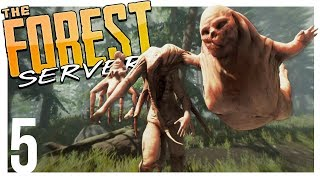 THE MUTANTS SPAWNED ON US! | The Forest Multiplayer Gameplay - Part 5 (Patreon Server)