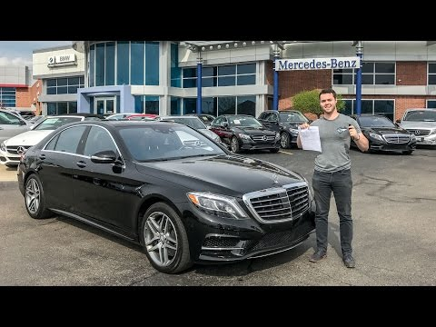I M BUYING THE NEW 2018 MERCEDES S-CLASS?!