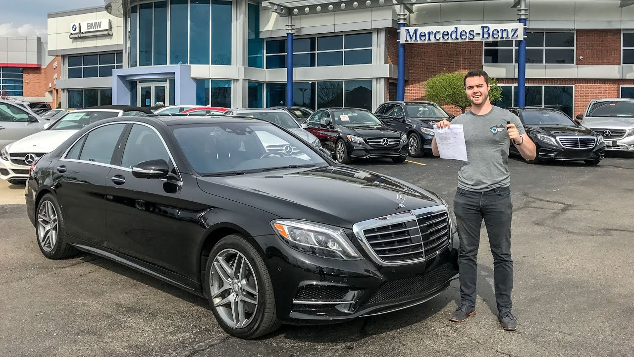I'M BUYING THE NEW 2018 MERCEDES S-CLASS?!
