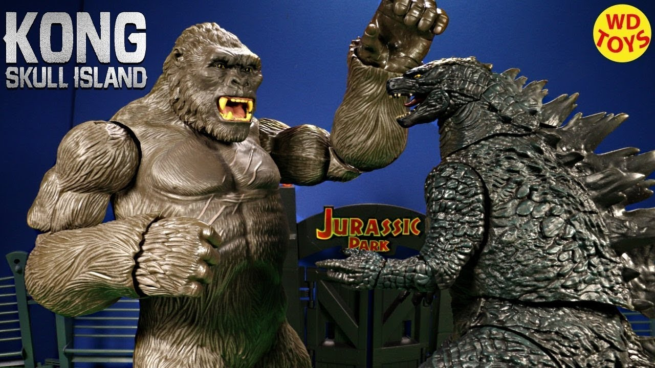 New 10 Rampage The Movie Toys Unboxing Unbox Compare To King Kong