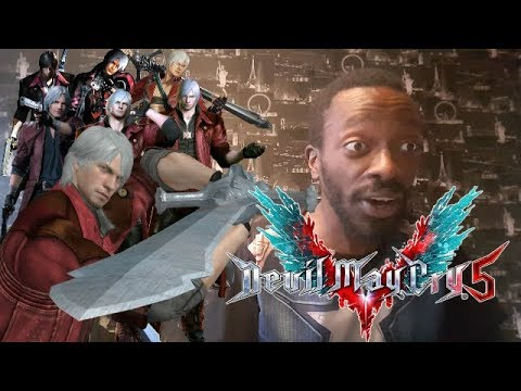 Devil May Cry 5 - Dante Weapons Showcase - REACTION!! thumbnail