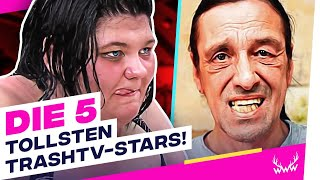 Die 5 TOLLSTEN Trash-TV-Stars! | TOP 5