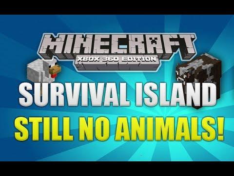 Minecraft Xbox 360: Survival Island Still No Animals!!! [15]