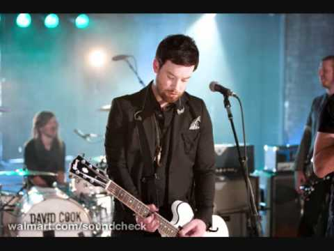David Cook - Time Marches On (Walmart Soundcheck) Mp3 Download Link