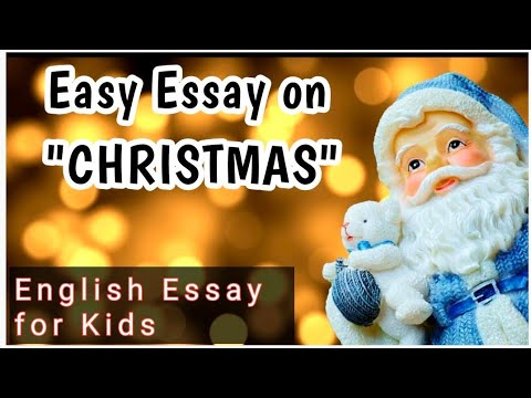 easy english essay on christmasenglish essay for kids  youtube english essay for kids