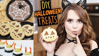 DIY HALLOWEEN TREATS 2016! by : Rosanna Pansino