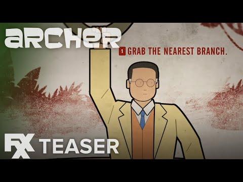 Archer | Season 9: Quicksand Teaser | FXX