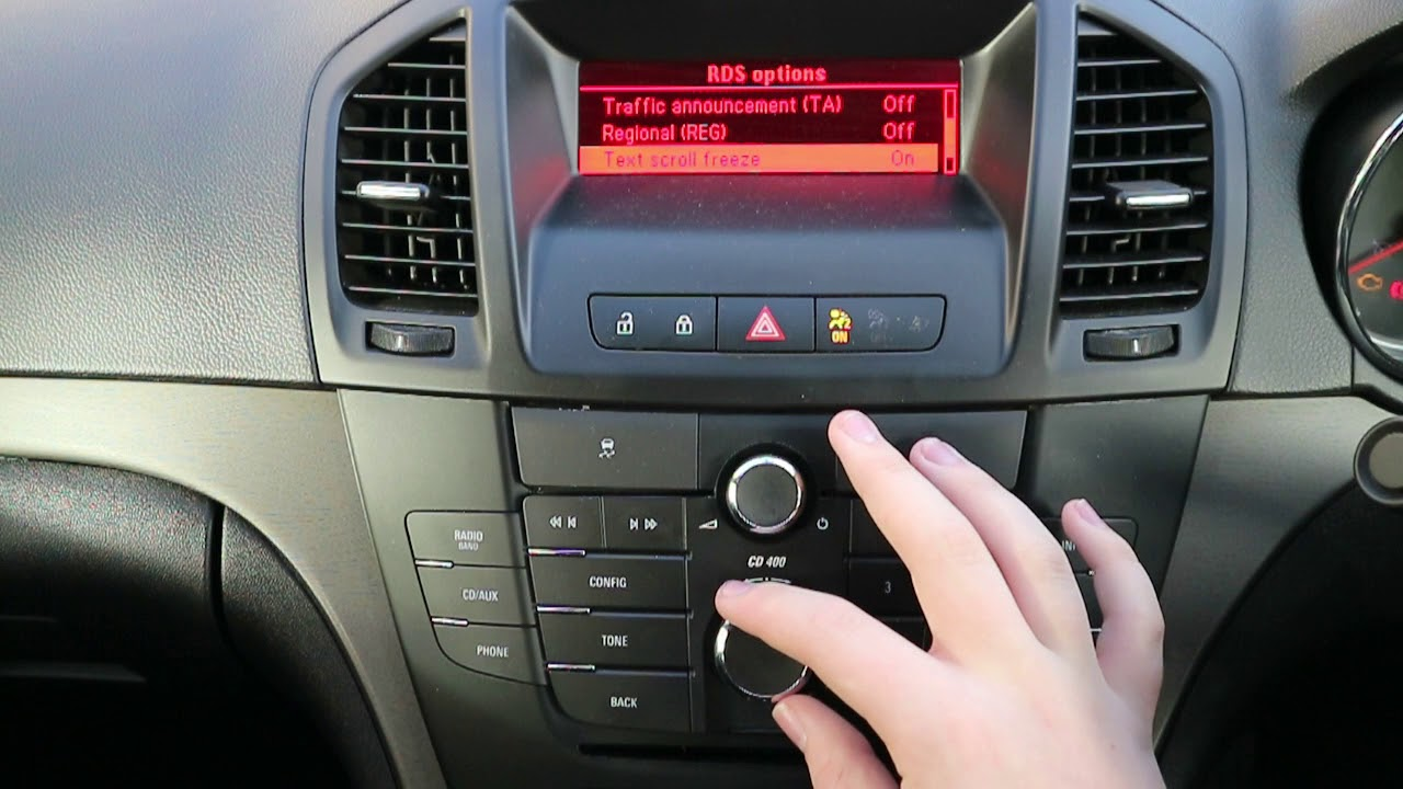 how to tune a cd400 radio on a vauxhall insignia youtube rh youtube com vauxhall insignia cd400 manual vauxhall insignia cd400 manual