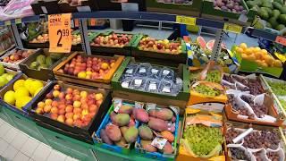 Цены на продукты в Польше (осень 2019).  Супермаркет Biedronka. Скидки на товары