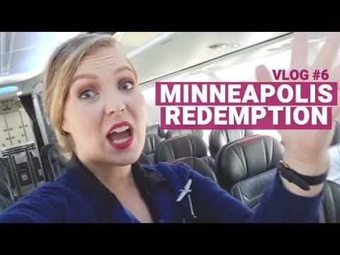 Minneapolis Redemption! || JULY 2018|| Flight Attendant VLOG #6