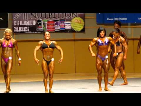 Top 5 Women Heavy Weight At The CBBF 2012