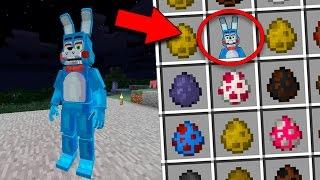 MINECRAFT FNAF MOD - ANIMATRONICOS ASESINOS que no quieres CONOCER!! Minecraft MOD