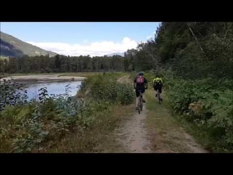 Cycling the Trans Canada Trail, Vancouver to Nelson, on our Multi-Day Tour