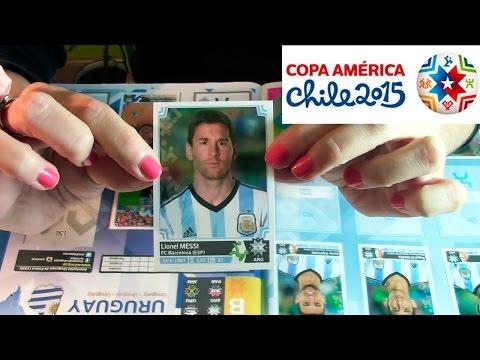 Album Copa America Chile 2015 [ASMR]