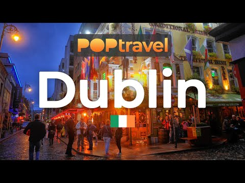 Walking in DUBLIN / Ireland 🇮🇪- 4K 60fps (UHD)