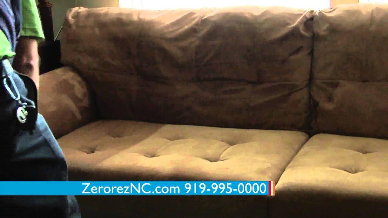 Zerorez Upholstery Cleaning North Carolina