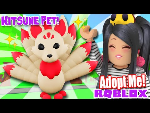 Adopt Me New Robux Pet Kitsune New Kitsune Pet Adopt Me Roblox Robux Update News Tea Leaks