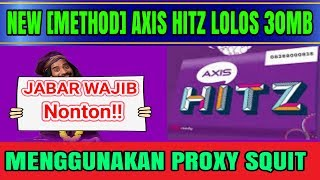 New Payload Axis Hitz Anti Coid Dengan Proxy Squit  Http Injector Indonesia 2017