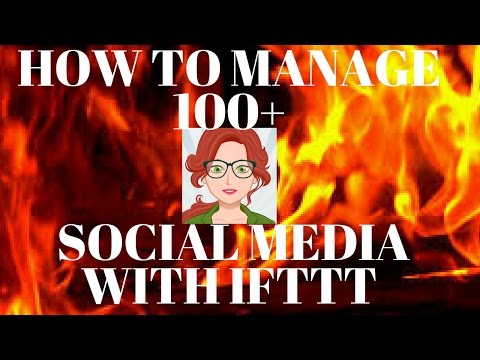 How To AUTOMATE 100+ SOCIAL MEDIA Accounts ON AUTOPILOT with IFTTT