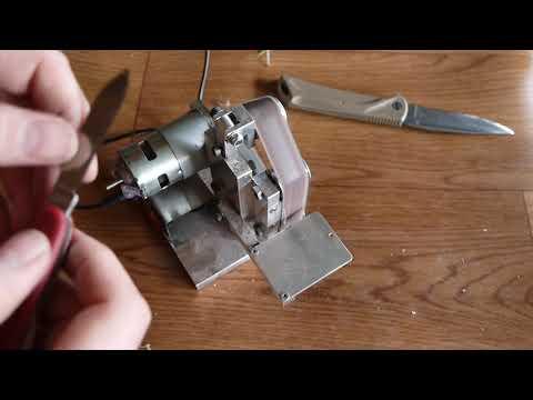 Мини гриндер для заточки ножей своими руками