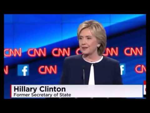 Democrat Presidential Debate in Las Vegas on Oct. 13, 2015
