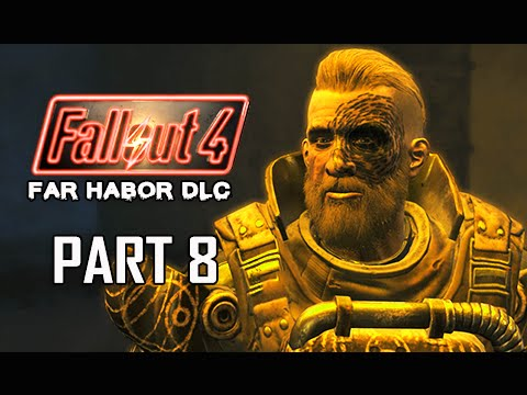 Fallout 4 Far Harbor DLC Walkthrough Part 8 - Children of Atom (PC Ultra Let's Play)