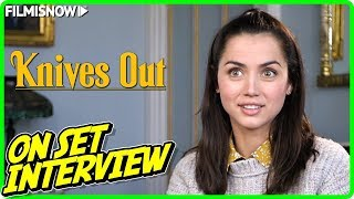 "KNIVES OUT | Ana de Armas ""Marta Cabrera"" On-set Interview"
