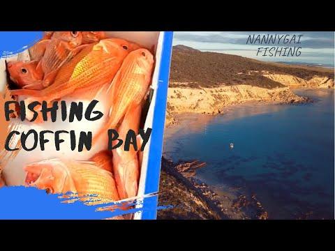 FISHING COFFIN BAY SOUTH AUSTRALIA