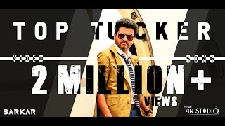 Sarkar - Top Tucker Video Song | Thalapathy Vijay | A .R. Rahman | A.R Murugadoss | In Studio |