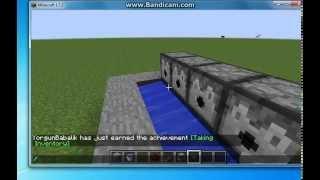 Minecraft Otomatik Isıtılmış Taş Sistemi