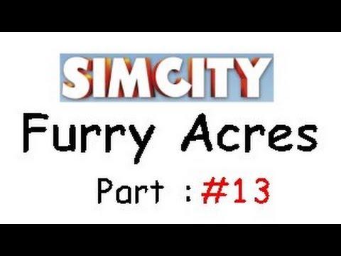Simcity Solo : Furry Acres part 13 - Criminal decisions
