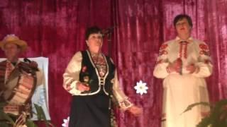 Варвара Лукьянович поет частушки