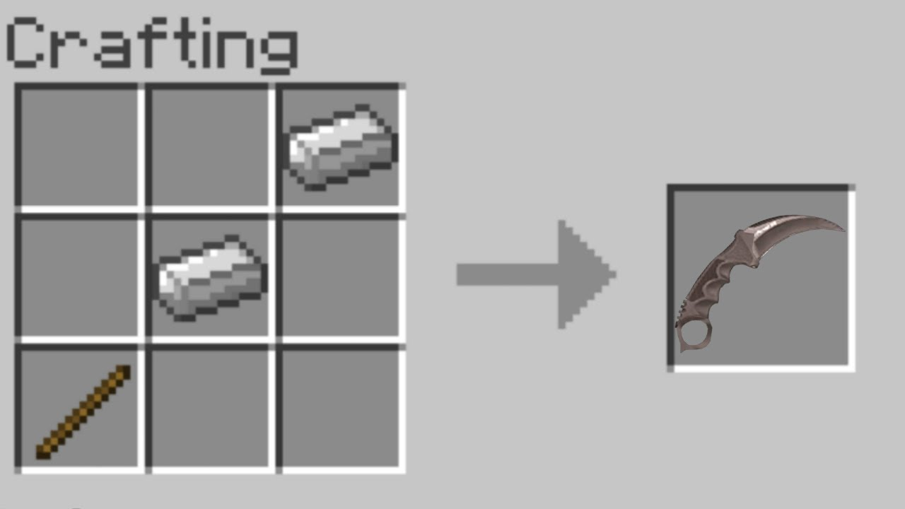Crazy Crafting Recipes For Minecraft