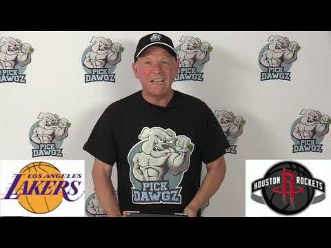 Los Angeles Lakers vs Houston Rockets 1/18/20 Free NBA Pick and Prediction NBA Betting Tips