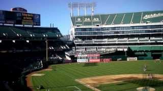 O.cO Coliseum- Oakland Athletics
