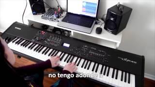Cerca de Ti (Jesus Adrian Romero) - pista instrumental de piano, karaoke