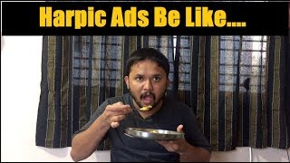 Harpic Ads Be like| Kannada Funny Videos