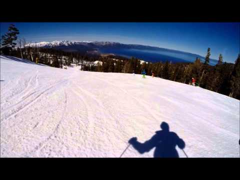 Compilation Heavenly Ski Trip March 2015
