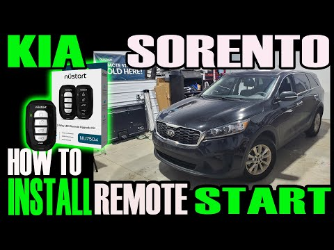 KIA SORENTO — HOW TO INSTALL REMOTE START CM900 PLUS BLADE AL IDATALINK
