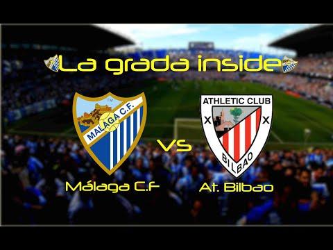 La grada inside Málaga c.f - Athletic club de Bilbao 2017 Diegopro
