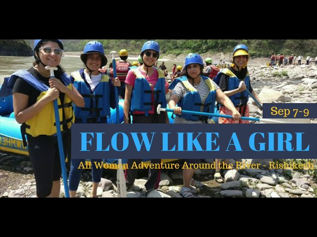 Flow Like a Girl | Sept 7-9, 2018