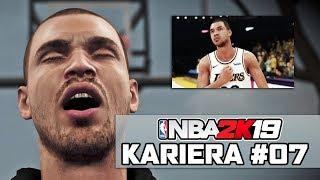 MOJA TRAGICZNA DROGA DO NBA ► NBA 2K19 KARIERA #07