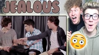 Harry Styles & Louis Tomlinson Jealousy Reaction