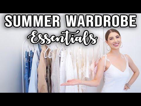 SUMMER WARDROBE ESSENTIALS *Must Haves: Part 1!*