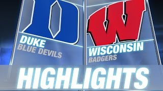 Duke vs Wisconsin | 2014-15 ACC Men