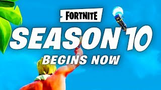 Fortnite SEASON 10 LEAKS - France ANNOUNCE TRAILER, BATTLE PASS SKINS, OFFICIAL MAP CHANGES, RELEASE DATE