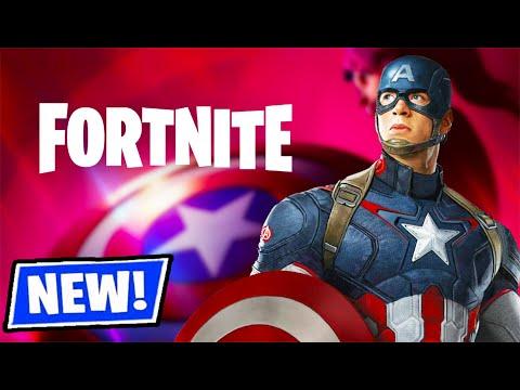 CAPTAIN AMERICA IN FORTNITE! (NEW UPDATE)