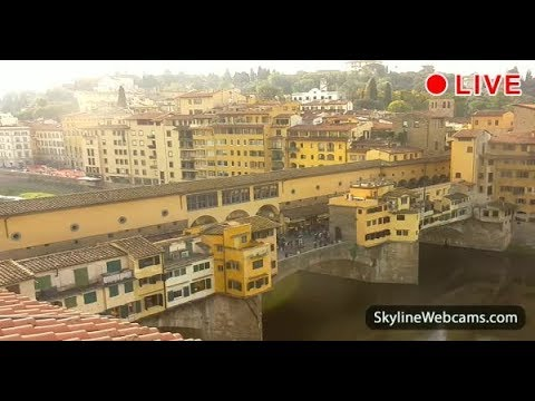 Live Webcam from Ponte Vecchio - Firenze