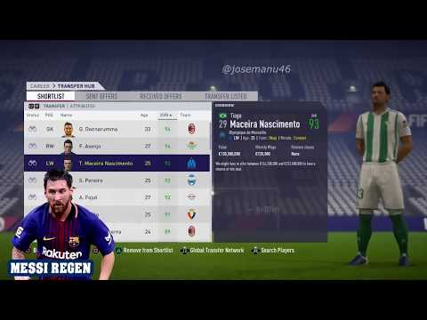 THE END OF FIFA 18 CAREER MODE 2032   (All Best Players And Regens)
