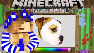 Minecraft -Little Carly Cam-BRIAN THE BULLDOG ADVENTURES!!